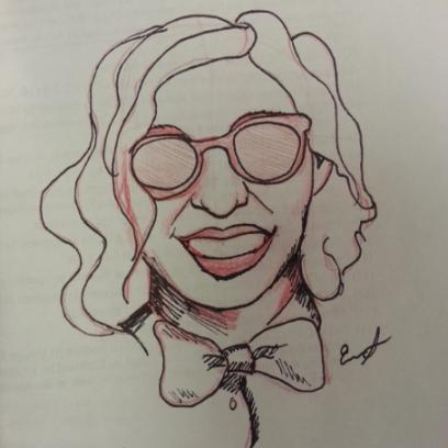 Me as Carol Channing