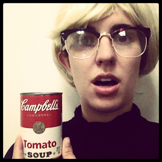 My Night As Andy Warhol